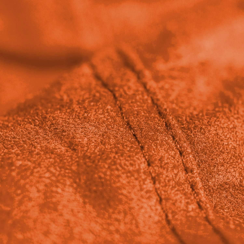 QWERTP Sofa Sac - Canapés De Sac De Haricots Peluches avec Microsudue Super Douce Microsuede Cover Mousse Chaises De Chaises Fourrées pour Enfants, Adultes,Orange Blue