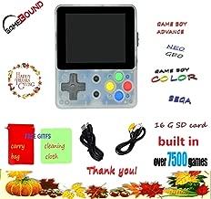 Gamebound LDK Game 4:3 Retro Handheld Game Console - Clear