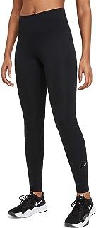 Nike Women's W ONE MR TGHT 2.0 Leggings, Black/(White)