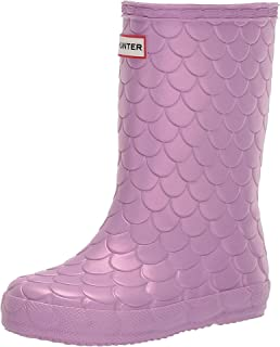 Hunter Kids Girl's First Classic Sea Dragon Boots (Toddler/Little Kid) Sugar Kelp 12 Little Kid
