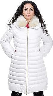 Geospirit Luxury Fashion Womens GED082301180867BIA White Down Jacket | Fall Winter 19