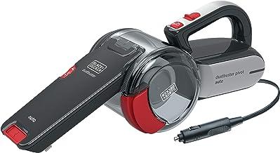 Black & Decker PV1200AV-B1 Pivot Cyclonic Car Corded Dustbuster Hand Vacuum with Full Set Acc, 12V
