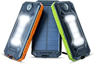 Solar Phone Charger Power Bank - Portable Solar Charger For Cell Phone