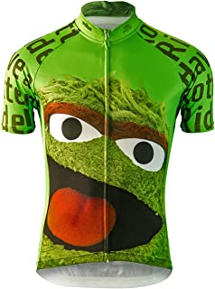 Brainstorm Gear 2015 Men's Oscar the Grouch Cycling Jersey - SSOG-M