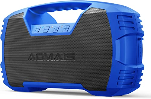 AOMAIS GO Bluetooth Speakers, 40H Playtime Outdoor Portable Speaker, 40W Stereo Sound Rich Bass, IPX7 Waterproof Blue...