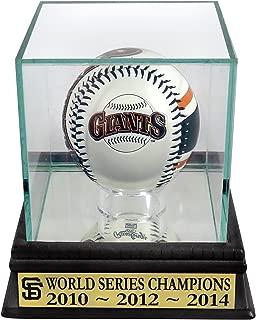 SF Giants 2010-2012-2014 World Series Champion Rawlings Logo Baseball Display