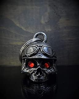 3-D Diamond Motorcycle Helmet Skull Deluxe Ride Bell