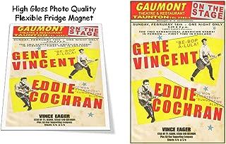 Gene Vincent Eddie Cochran Concert Poster 3