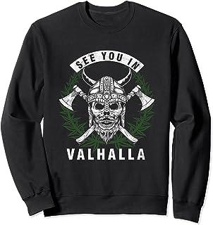 ヴァルハラで会いましょう ノルウェー ノールス語 神話 バイキング 賜物 トレーナー
