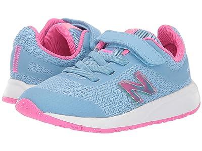 New Balance Kids 455v2 (Infant/Toddler) (Summer Sky/Light Peony) Girls Shoes