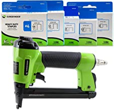 Surebonder 9600AK Pneumatic Heavy Duty Standard T-50 Type Stapler Kit, 1/4-Inch –..