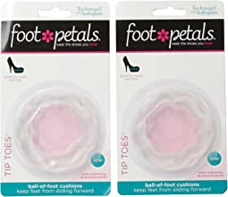 Foot Petals Technogel w/ Softspots Tip Toes 2-Pair Pack