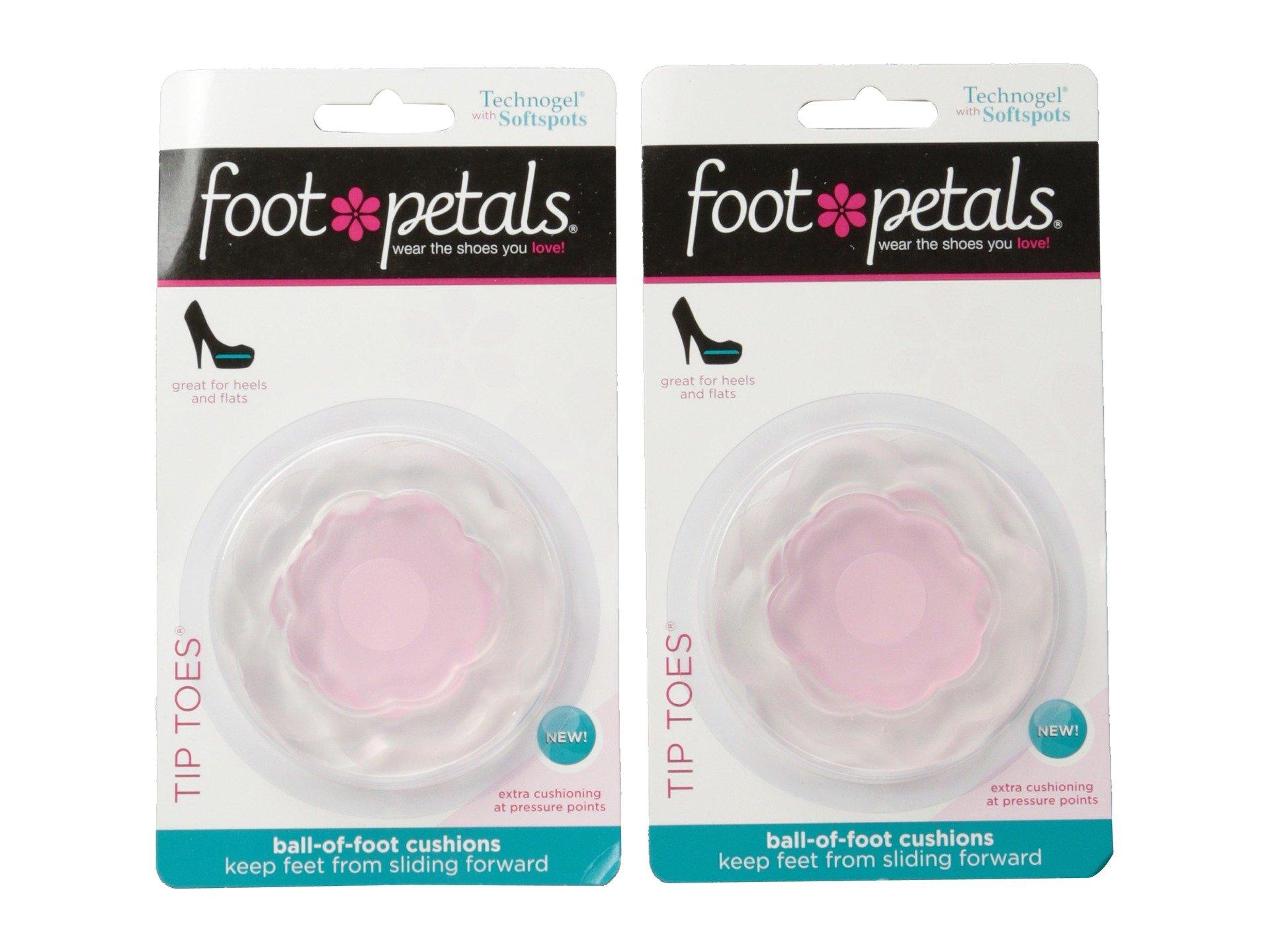 technogel w / / / softspots pieds pointe des pieds de pétales 2-pair pack 5ae6e3
