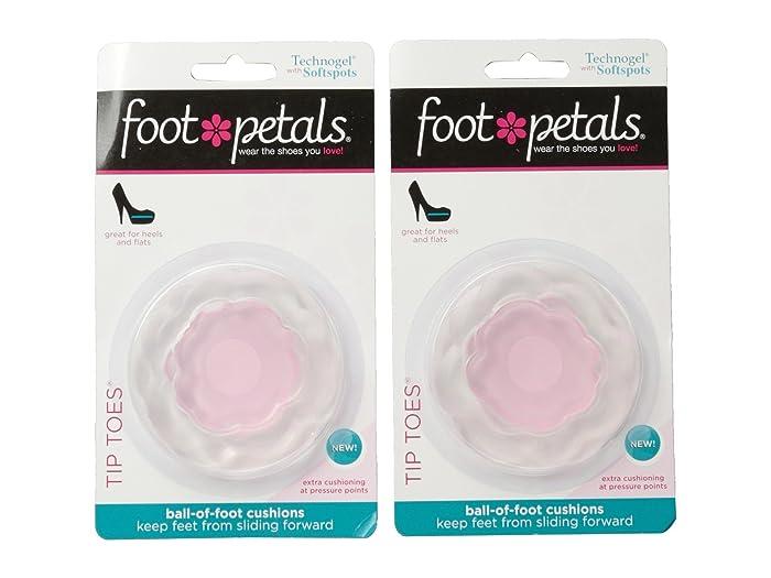 Foot Petals Technogel W Softspots Tip Toes 2 Pair Pack