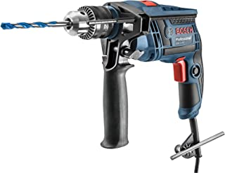 Bosch 060123D5D0-000, Furadeira de Impacto GSB 13 RE 127V, Azul