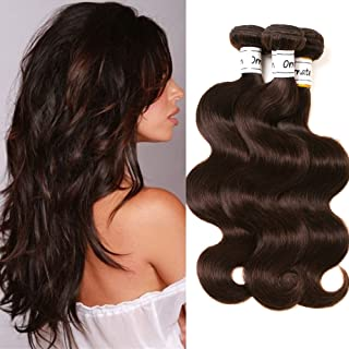Ornate Hair 3 Bundles Brazilian Virgin Hair Body Wave Hair Bundles 100% Brazilian Human Hair