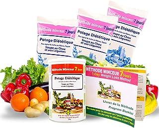 Annedelona CURE METHODE MINCEUR 21 JOURS NATURELLE ET EFFICACE. Potage Diététique Soupe au Chou et Légumes Riche en Fibre ...