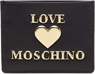 Love Moschino JC5608PP0BLE0, Billetera para Mujer, Negro, Normale