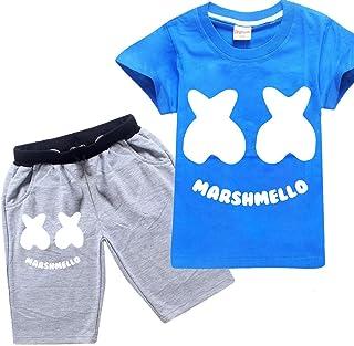 Camicia a Maniche Lunghe con Cravatta//Papillon + Pantaloni con Bretelle 1-6 Anni #033 Teansan Completo in Due Pezzi per Ragazzo