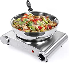 Best portable single electric hot plate Reviews