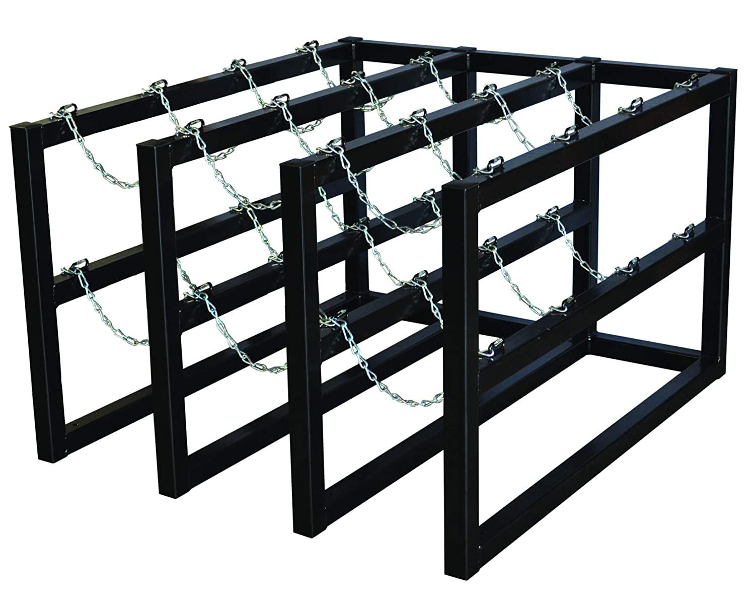 Justrite free shipping 35140 New Orleans Mall Cylinder Rack 3x4 Barricade