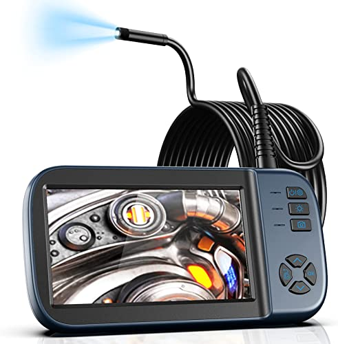 """2021 Borescope Inspection Camera, Endoscope Camera 1080P 4.5"""" online IPS Screen w/ IP67 Waterproof Snake Camera, Sewer Camera 2021 with Detachable Cable-16.4FT outlet online sale"""