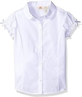 Girls' Uniform Y-Neck Blouse