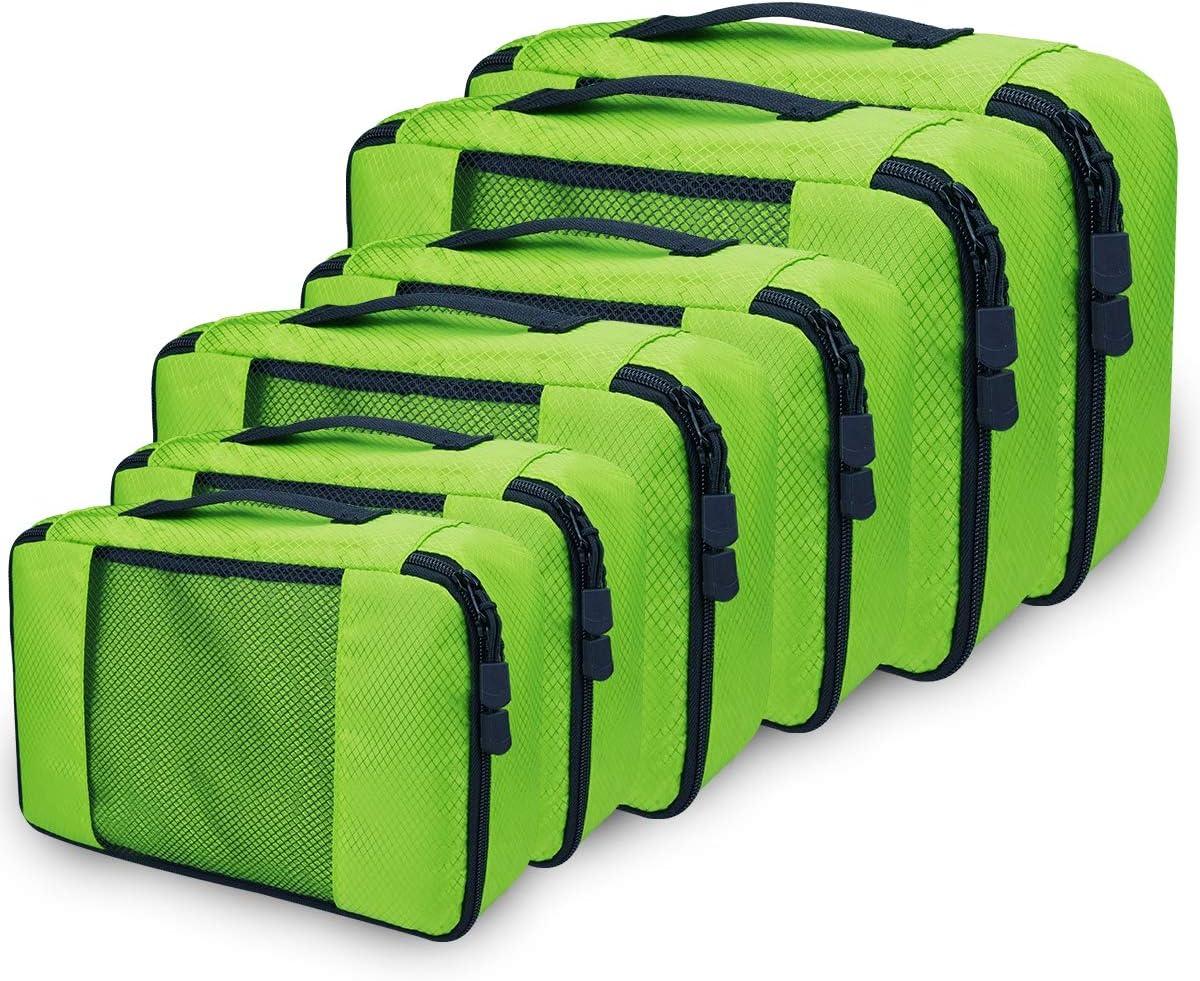 Netspower organizer valigia set di 6 organizer da viaggio