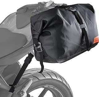 ドッペルギャンガー(DOPPELGANGER) ターポリンシングルサイドバッグ 【片持ち装着のバイク用防水バッグ】 容量14L 装着用ベルト・脱落防止ベルト付き DBT508-BK
