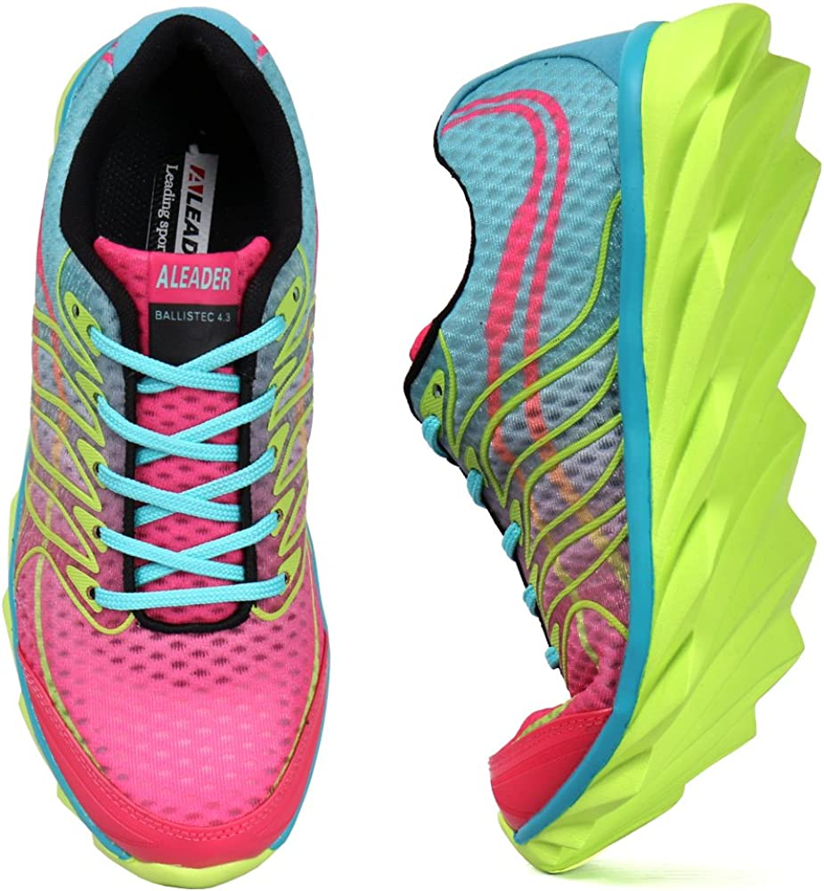 ALEADER Womens BladeFoam Colorful Running Shoes