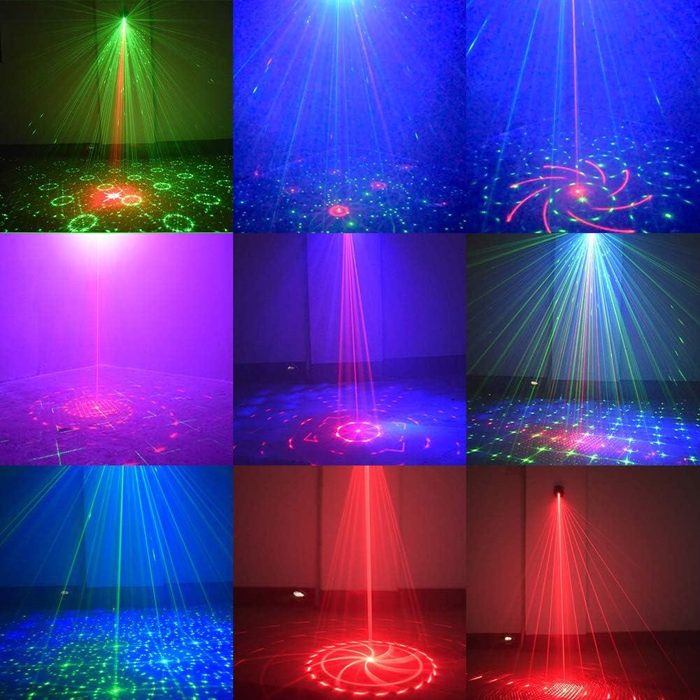Toifucos bodas karaoke Navidad Mini proyector port/átil con alimentaci/ón USB para DJ con control por voz y mando a distancia para reuniones familiares