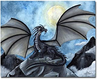 Fantasy Dragon 8x10 Art Print