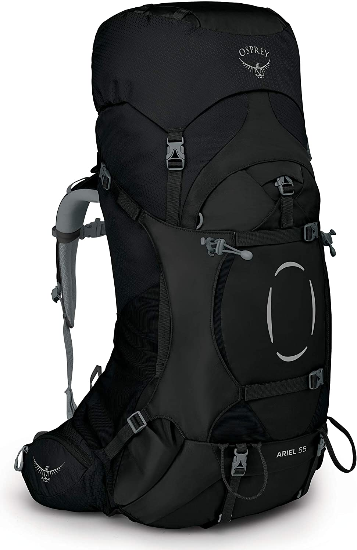 Osprey Women's Ariel 55 San Diego Mall Large Black Backpack outlet Medium