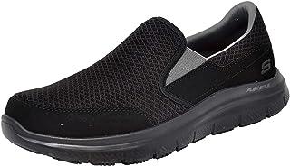 SKECHERS Flex Advantage Sr- Mcallen, Men's Uniforms, Work & Safety Shoes, Black