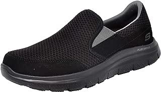 Men's Flex Advantage Mcallen Slip On, Black/Charcoal, 9.5 W US