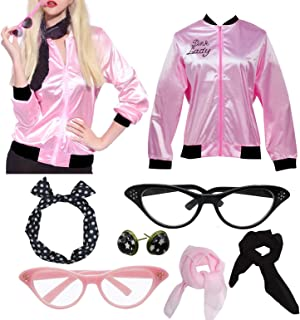 Womens Party Jacket Costume with 50s Women Accessories Set