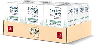 Neutromed Detergente Intimo Freschezza, con Complesso Micellare, Azione Antibatterica, pH 3.5, 12 pezzi x 200 ml