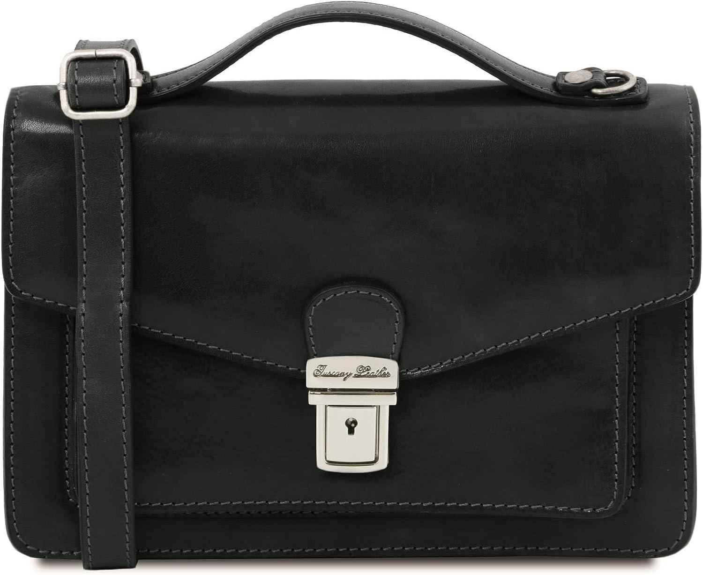 Tuscany Leather Eric - Leather Crossbody Bag - TL141443