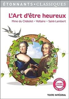L'Art d'être heureux (GF Etonnants classiques) (French Edition)