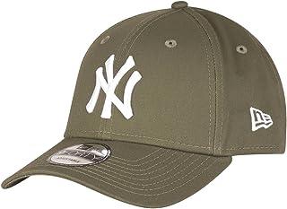 New Era League Essential 940 New York Yankees New Olive Beyzbol Şapkası, Yeşil, Tek Ebat