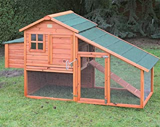 Gallinero Oxford. Fabricado en madera tratada para exterior. Capacidad 4-6 gallinas
