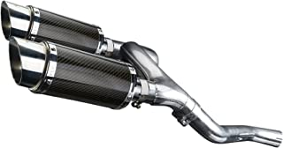 Delkevic Aftermarket Slip On compatible with Honda VFR800 V-Tec (2002-2009) with Mini 8
