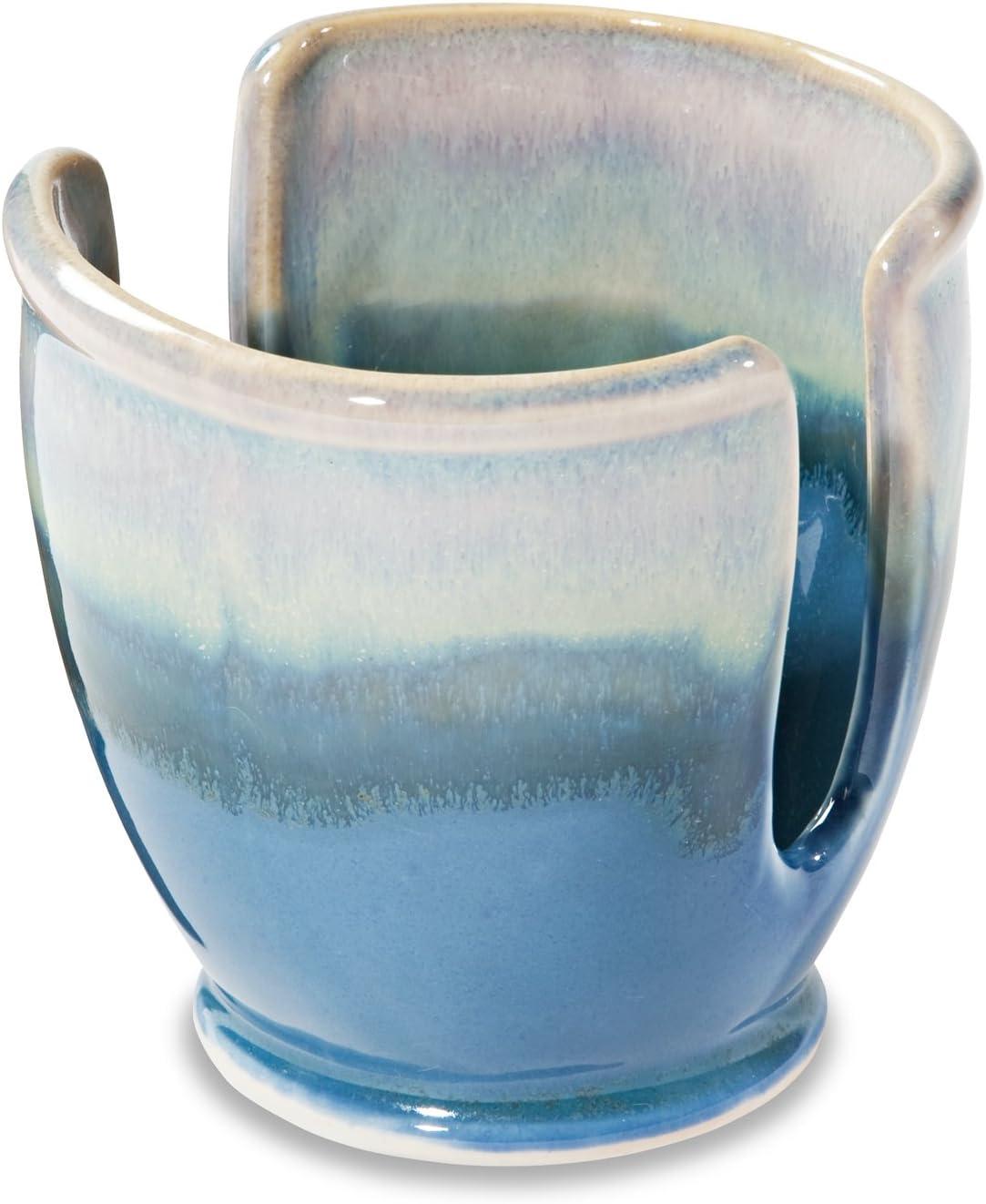 Georgetown Pottery Sponge Holder Blue - Oribe Milwaukee Mall Purple price