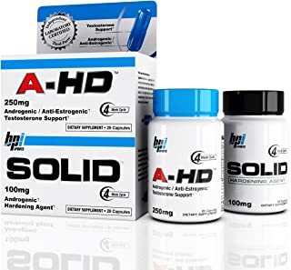 BPI Sports NEW, A-HD/Solid Stack, Re-Introduced (Original Formula) 28 capsules each