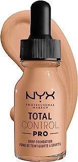 NYX PROFESSIONAL MAKEUP Total Control Pro Drop Foundation, Natural