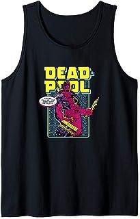 Marvel Deadpool 30th Call Me The Merc With The Mouth Débardeur