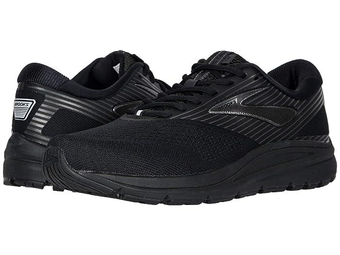 Brooks  Addiction 14 (Black/Charcoal/Black) Mens Running Shoes