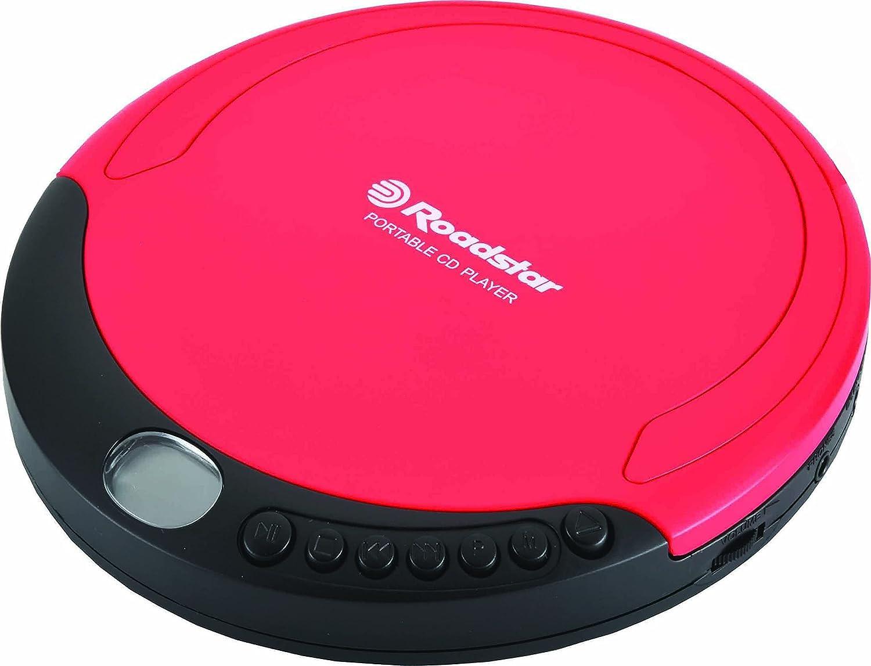 Discman ROADSTAR PCD-435NCD/RD Color Rojo
