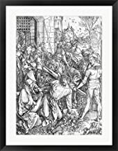 The Carrying of The Cross by Albrecht Durer Framed Art Print Wall Picture, Black Frame, 26 x 33 inches