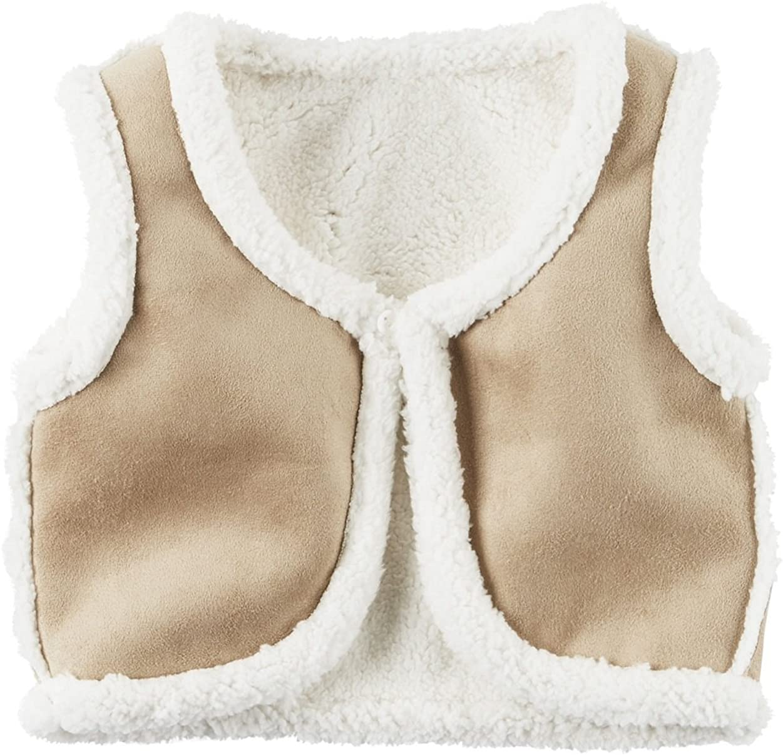 Carter's Little Girls' Fleece-Lined Vest, 4-Toddler